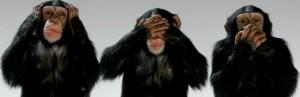 Die drei Affen von Foto by Saransn